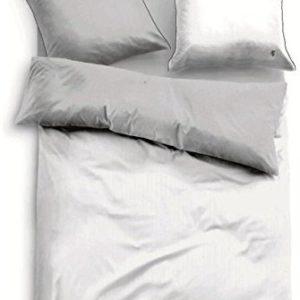 Kuschelige Bettwäsche aus Satin - grau 200x200 von TOM TAILOR