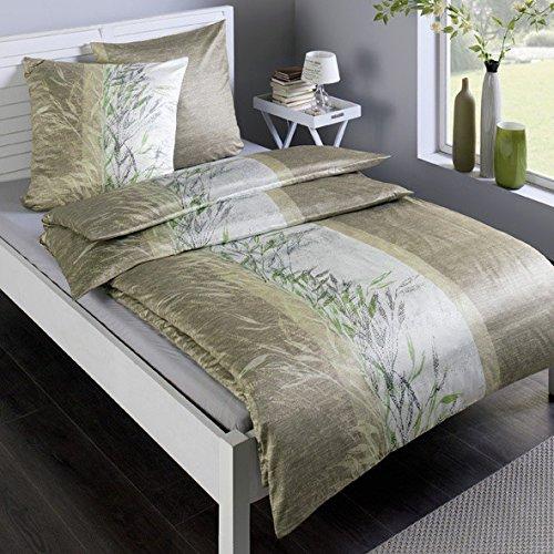 traumhafte bettw sche aus satin gr n 135x200 von estella bettw sche. Black Bedroom Furniture Sets. Home Design Ideas