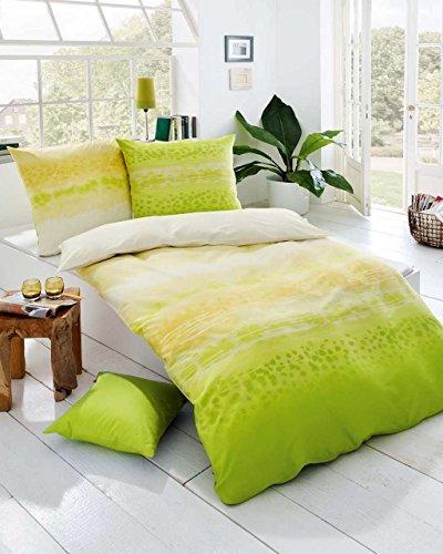 kuschelige bettw sche aus satin gr n 135x200 von kaeppel. Black Bedroom Furniture Sets. Home Design Ideas