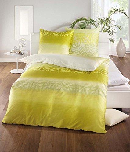 traumhafte bettw sche aus satin gr n 135x200 von kaeppel. Black Bedroom Furniture Sets. Home Design Ideas