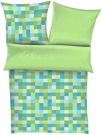 sch ne bettw sche aus satin gr n 135x200 von s oliver. Black Bedroom Furniture Sets. Home Design Ideas