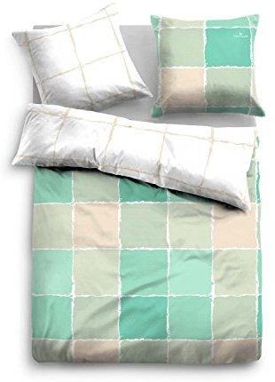 traumhafte bettw sche aus satin gr n 135x200 von tom. Black Bedroom Furniture Sets. Home Design Ideas