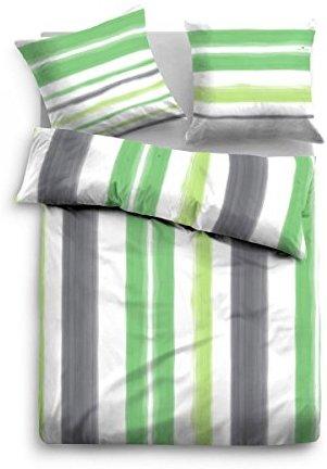 kuschelige bettw sche aus satin gr n 135x200 von tom. Black Bedroom Furniture Sets. Home Design Ideas