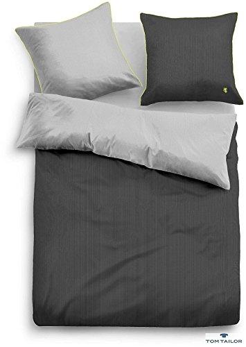 h bsche bettw sche aus satin gr n 135x200 von tom tailor bettw sche. Black Bedroom Furniture Sets. Home Design Ideas