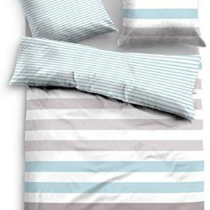 Traumhafte Bettwäsche aus Satin - petrol 155x220 von TOM TAILOR