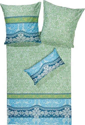 kuschelige bettw sche aus satin petrol 200x200 von erwin m ller bettw sche. Black Bedroom Furniture Sets. Home Design Ideas