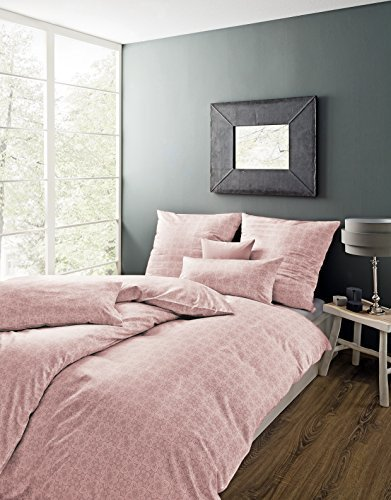 traumhafte bettw sche aus satin rosa 135x200 von estella bettw sche. Black Bedroom Furniture Sets. Home Design Ideas