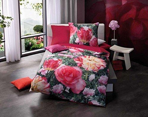 h bsche bettw sche aus satin rosa 135x200 von kaeppel. Black Bedroom Furniture Sets. Home Design Ideas
