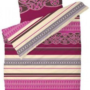 Schöne Bettwäsche aus Satin - rosa 200x200 von Schiesser