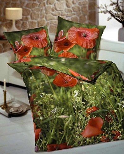 traumhafte bettw sche aus satin rot 135x200 von kaeppel bettw sche. Black Bedroom Furniture Sets. Home Design Ideas
