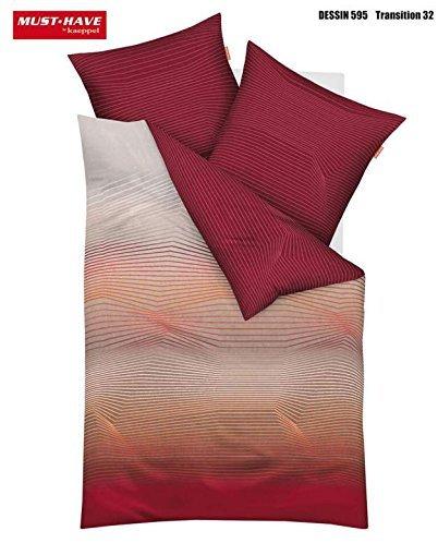 sch ne bettw sche aus satin rot 135x200 von kaeppel. Black Bedroom Furniture Sets. Home Design Ideas