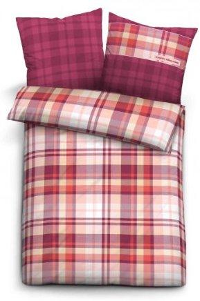 sch ne bettw sche aus satin rot 200x200 von tom tailor bettw sche. Black Bedroom Furniture Sets. Home Design Ideas