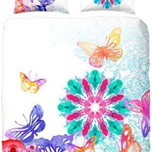 Schöne Bettwäsche aus Satin - Schmetterlinge von HIP