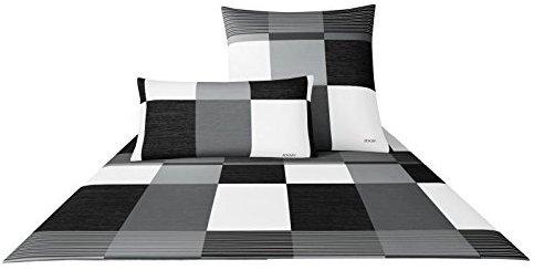 sch ne bettw sche aus satin schwarz 140x200 von joop. Black Bedroom Furniture Sets. Home Design Ideas