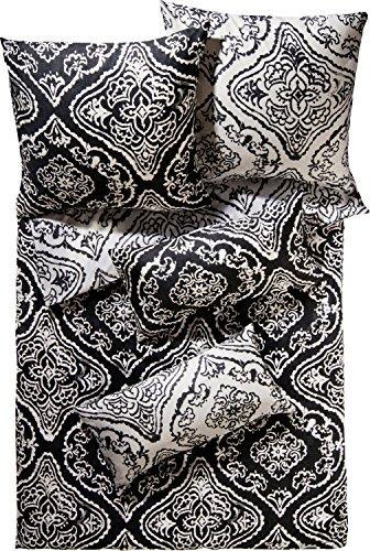 kuschelige bettw sche aus satin schwarz 155x220 von erwin m ller bettw sche. Black Bedroom Furniture Sets. Home Design Ideas