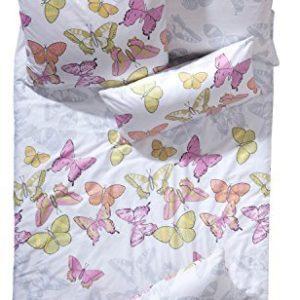 Traumhafte Bettwäsche aus Satin - weiß 155x220 von Erwin Müller