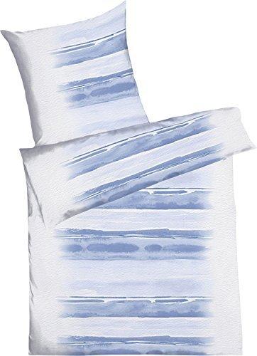 kuschelige bettw sche aus seersucker blau 135x200 von. Black Bedroom Furniture Sets. Home Design Ideas