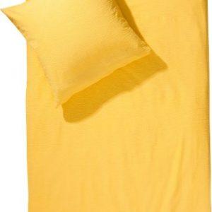 Schöne Bettwäsche aus Seersucker - gelb 200x200 von Erwin Müller