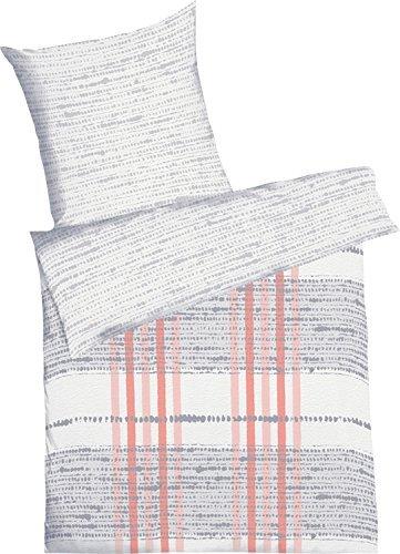 kuschelige bettw sche aus seersucker grau 135x200 von. Black Bedroom Furniture Sets. Home Design Ideas