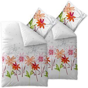 Schöne Bettwäsche aus Seersucker - grün 135x200 von CelinaTex