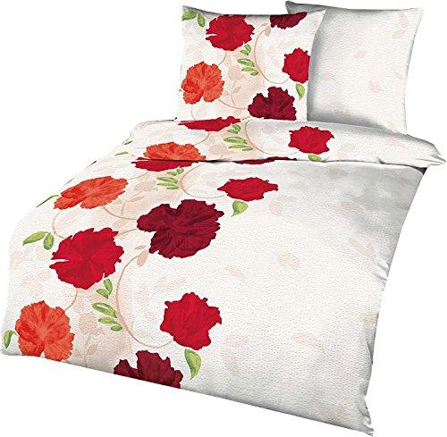 h bsche bettw sche aus seersucker rot 135x200 von. Black Bedroom Furniture Sets. Home Design Ideas