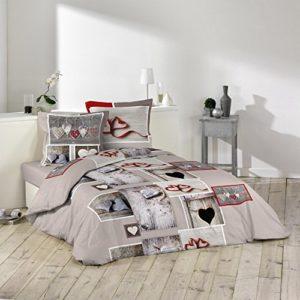 """Romantische """"Emotions"""" Bettwäsche aus Baumwolle von Douceur d 'Intérieur"""