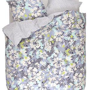 Schöne Bettwäsche aus Baumwollsatin - blau 155x220 von ESPRIT