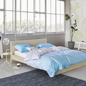Traumhafte Bettwäsche - blau 135x200 von ESPRIT