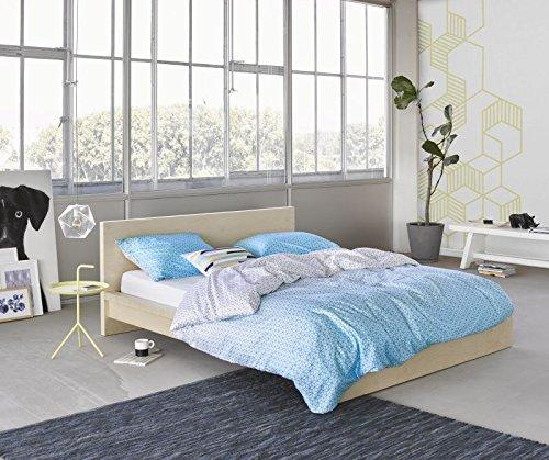 traumhafte bettw sche blau 135x200 von esprit. Black Bedroom Furniture Sets. Home Design Ideas