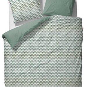 Hübsche Bettwäsche - grün 135x200 von ESPRIT