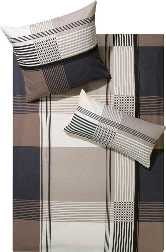edle biber bettw sche von erwin m ller in braun bettw sche. Black Bedroom Furniture Sets. Home Design Ideas