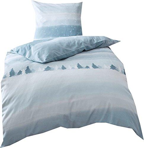 h bsche bettw sche aus biber blau 135x200 von kaeppel. Black Bedroom Furniture Sets. Home Design Ideas