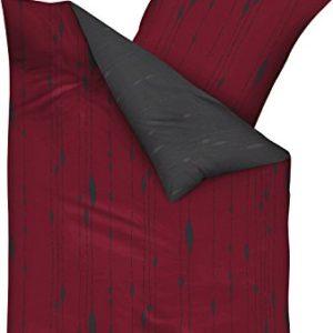 Schöne Bettwäsche aus Biber - rot 200x200 von Kaeppel