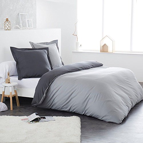 traumhafte bettw sche aus flanell grau 220x240 von home linen bettw sche. Black Bedroom Furniture Sets. Home Design Ideas
