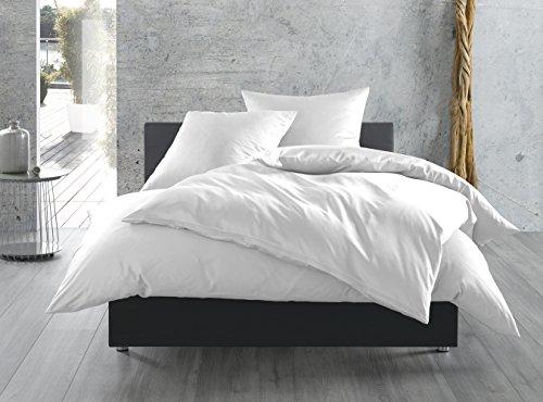 einfarbige mako satin bettw sche von bettwaesche mit stil. Black Bedroom Furniture Sets. Home Design Ideas