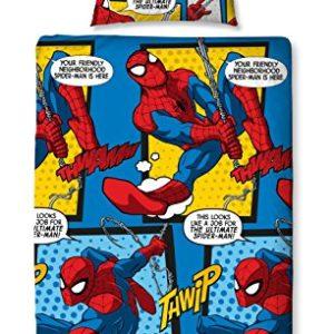 Schöne Bettwäsche aus Mikrofaser - Spiderman 135x200 von Marvel