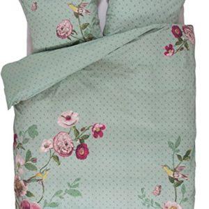 Kuschelige Bettwäsche aus Perkal - grün 155x220 von PiP Studio