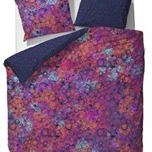 Kuschelige Bettwäsche aus Satin - 155x220 von ESPRIT