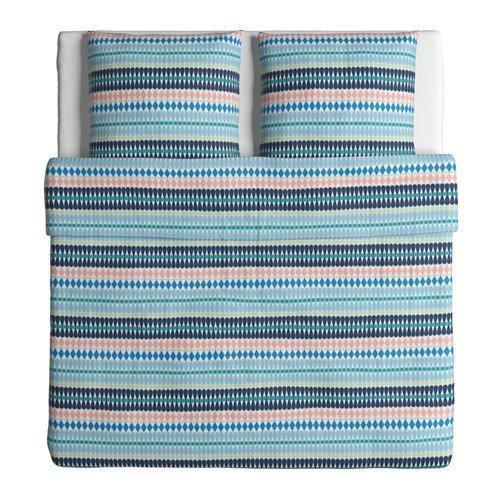 kuschelige bettw sche aus baumwolle 220x240 von ikea. Black Bedroom Furniture Sets. Home Design Ideas