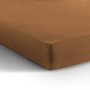 Traumhafte Bettwäsche aus Jersey - braun 200x200 von