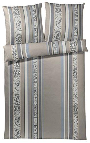 h bsche bettw sche aus mako satin grau 155x220 von joop bettw sche. Black Bedroom Furniture Sets. Home Design Ideas