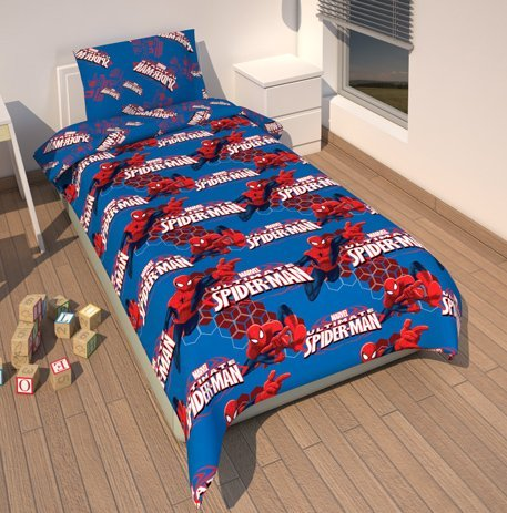 traumhafte bettw sche aus polyester spiderman von marvel bettw sche. Black Bedroom Furniture Sets. Home Design Ideas