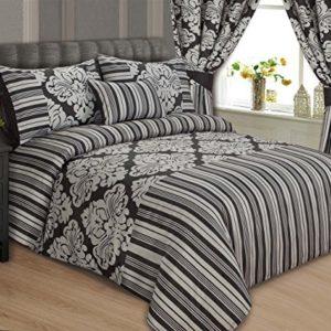 Schöne Bettwäsche aus Seide - schwarz von Sterling Mill