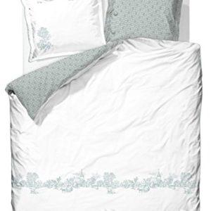Schöne Bettwäsche aus Baumwolle - weiß 135x200 von PiP
