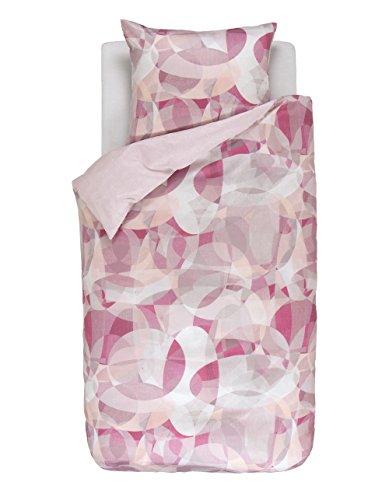 kuschelige bettw sche aus baumwollsatin rosa 135x200 von. Black Bedroom Furniture Sets. Home Design Ideas