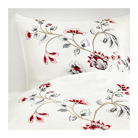 Ikea Bettwasche Blumen Muster Fur Einen Traumhaften Schlaf