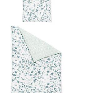 Traumhafte Bettwäsche aus Jersey - blau 135x200 von Irisette
