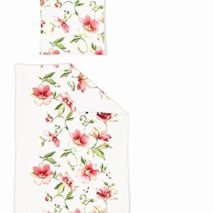 Schöne Bettwäsche aus Jersey - rot 135x200 von Irisette