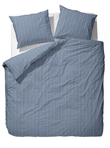 sch ne bettw sche aus perkal blau 135x200 von marcopolo bettw sche. Black Bedroom Furniture Sets. Home Design Ideas