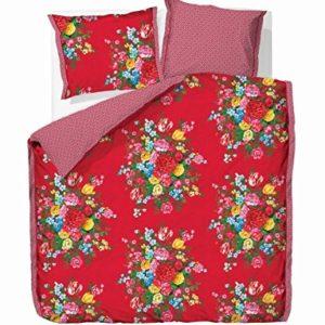 Schöne Bettwäsche aus Perkal - rot 135x200 von PiP Studio